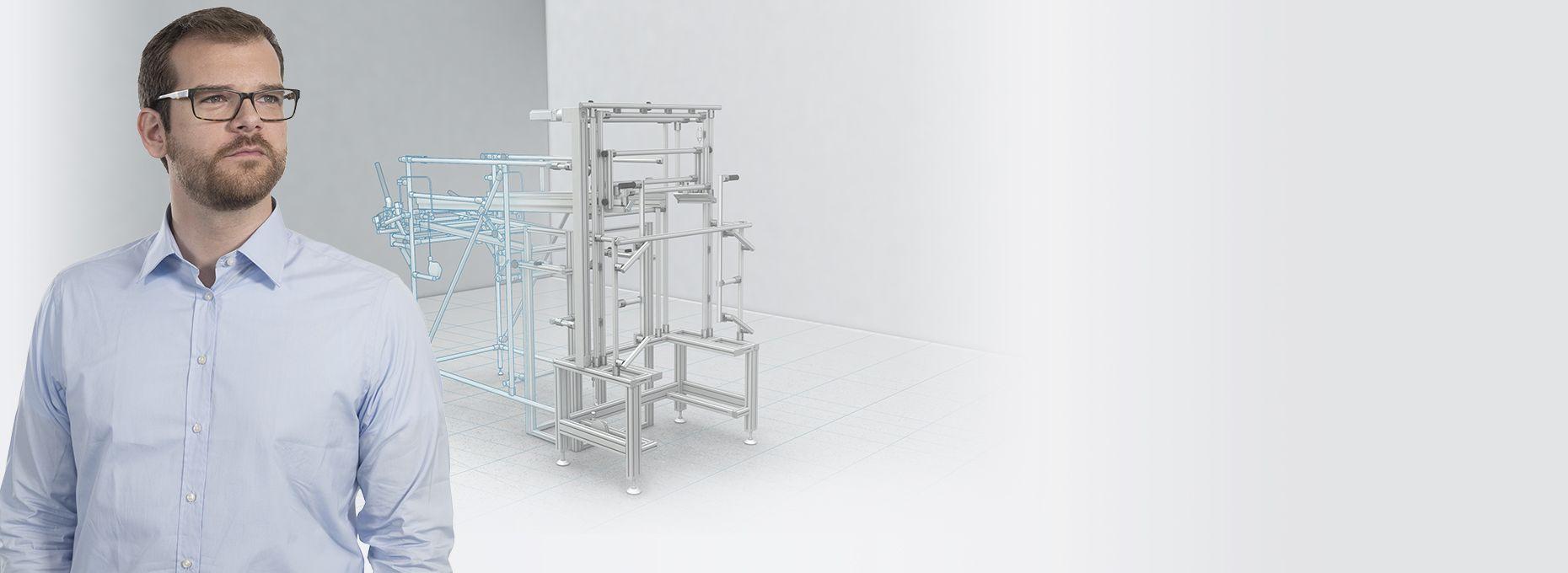 item – aluminum profiles, linear technology, work bench system